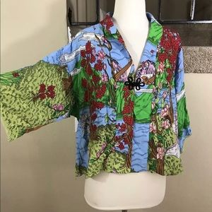 0ab754bde3 ... Top 🍀Yon Hui Bright Asian Design Wearable Art Jacket ...